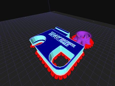 User Interface for 3ntr 3D Printer